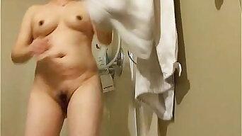 My 45 years old Chinese Stepmom shower 3