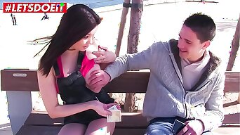 LETSDOEIT - Asian Hottie Miyuki Son Convinces Tiro Stud To Fuck For Money